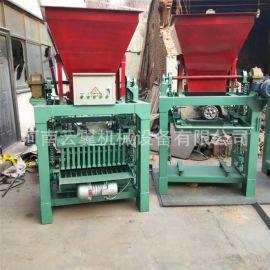 新型建材设备 顺砌块砖机 路面花砖机 全自动液压砖机