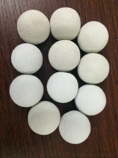 洗水球抄雪花球透明弹力球硅胶球