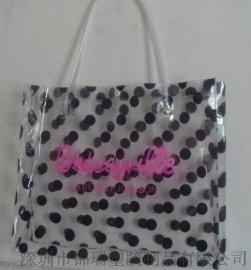 厂家批发精美PVC手提购物袋 PVC环保购物袋 可印刷LOGO