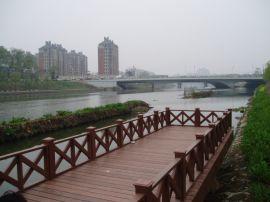 揚州塑木地板WPC木塑地板生態木DIY長城板