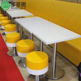 广东深圳甜品店奶茶店咖啡厅餐桌椅组合|石材餐桌 深圳桌子