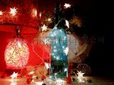 玻璃酒瓶中灯装饰品瓶