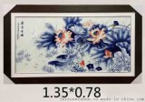 瓷板画定做生产厂家 景德镇手绘瓷板画厂家 批发瓷板画厂家