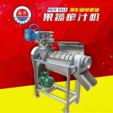 螺旋榨汁機大型工業電動不鏽鋼水果壓榨機