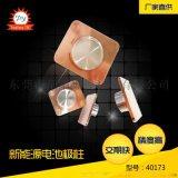 东莞童阳数控 铜铝复合极柱 锂电池极柱 动力极柱汽车五金配件车削加工厂