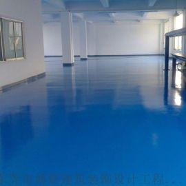 东莞茶山厂房装修防静电地坪环氧树脂地坪工艺