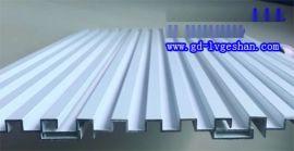 鋁合金凹凸板 襄陽鋁型材長城板 穿孔凹凸鋁板
