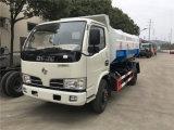 东风福瑞卡6-8方挂桶式垃圾车多少钱