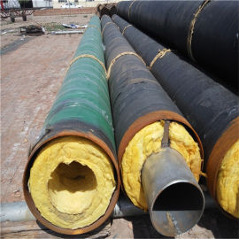 广西 鑫龙日升 聚氨酯预制管DN350/377 地埋聚氨酯供暖发泡保温钢管