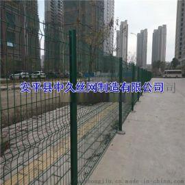 小区双边丝护栏网 铁丝围栏网 定做各种防护网