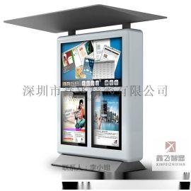 深圳鑫飞智显多屏户外液晶广告机防水、防尘、厂家直销
