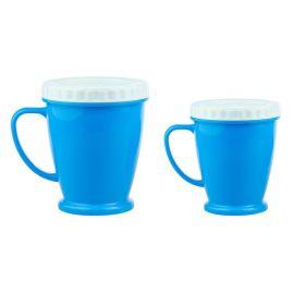 厂家直销 多功能塑料带盖口杯