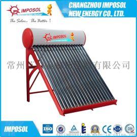 一体承压太阳能热水器通过SRCC&SolarKeymark认证金管不锈钢太阳能热水器水箱