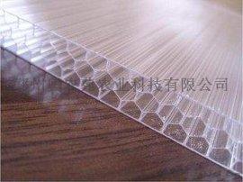 8mmPC-湖蓝四层阳光板大棚板