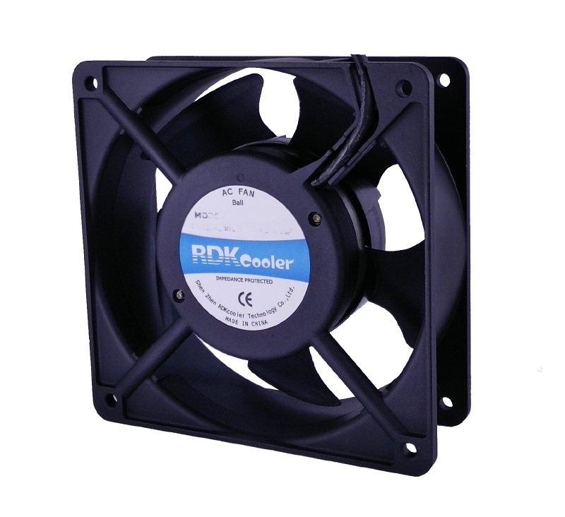 RDKcooler散熱風扇12038交流散熱風扇110V-220V
