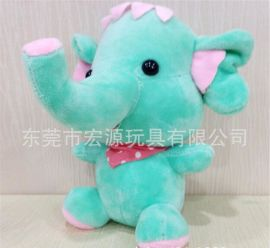 毛绒小象玩具 2018热销毛绒象公仔 款毛绒小象