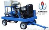 40KW不鏽鋼泵空化射流水下清洗機