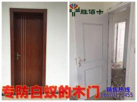 优质木塑门厂家 WPC DOOR出口东南亚,中东 质量稳定