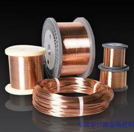 供应导电弹簧用磷铜线,天线弹簧用磷铜线,磷铜线生产厂家
