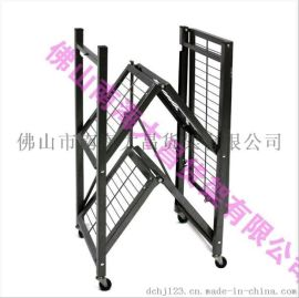 家用简易折叠货架批发金属仓储货架库房厨房型置物架