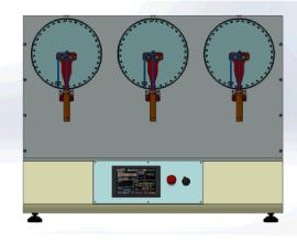 工业机器人柔性电缆弯折试验机