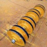5t起重機鑄鋼滑輪組 鋼絲繩吊裝滑輪 熱軋滑輪片