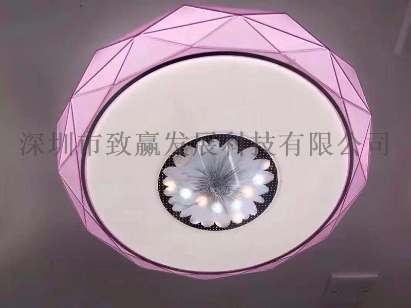 致赢LED吸顶灯室内照明三段调光500MM40W