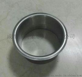 台面垃圾桶 304不锈钢圆形垃圾桶饰盖 嵌入式