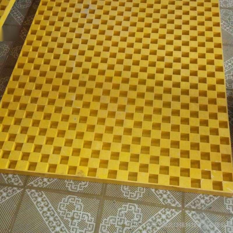玻璃钢格栅排水沟盖板 平台  格栅  无味