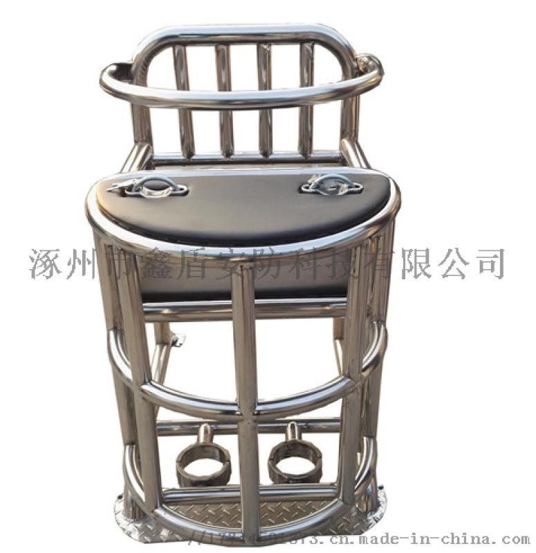 [鑫盾安防]树脂白板钥匙型审讯椅 铁质模板审讯桌椅参数