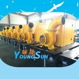 12寸柴油抽水機  防汛柴油機水泵  防汛移動泵車300HW-10