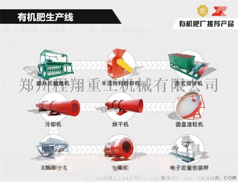 内蒙鸡粪猪粪加工有机肥设备 小型有机肥设备多少钱