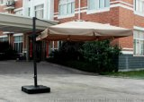 戶外遮陽傘、花園陽臺庭院羅馬傘、保安崗亭傘定製