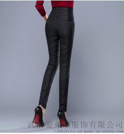 杭派女装品牌折扣店初语冬装新款棉裤