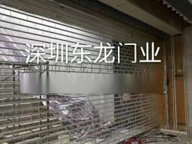 深圳电动水晶门 铝合金车库门