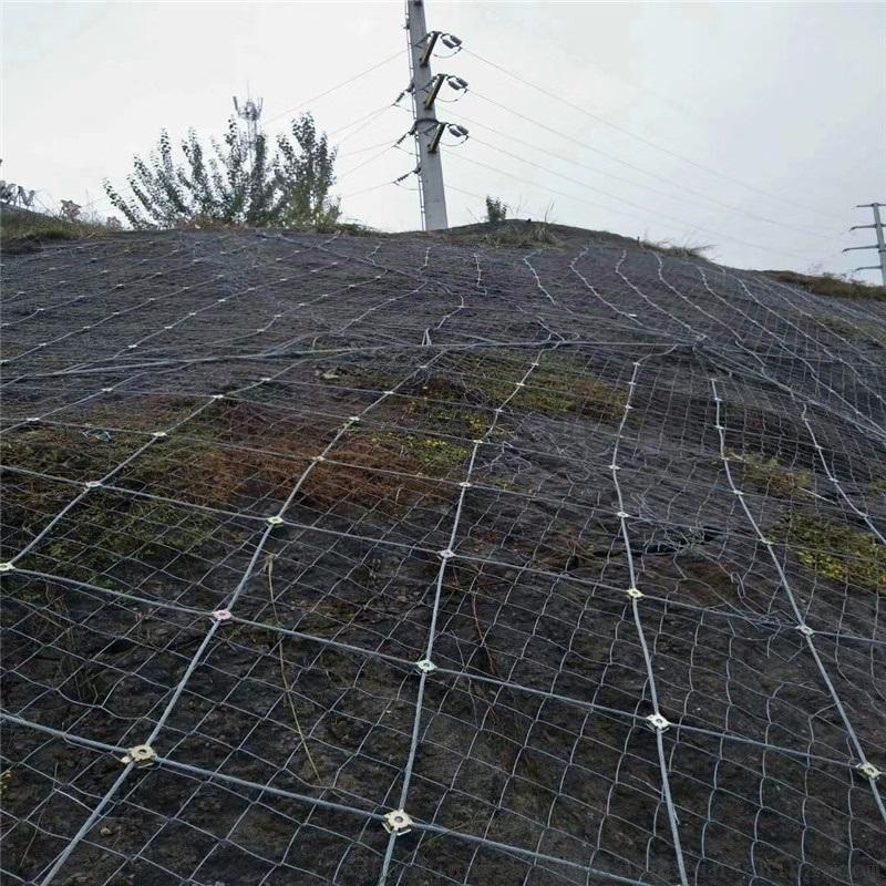 防飞石钢丝网.防飞石钢丝绳网.钢丝绳防护网厂家
