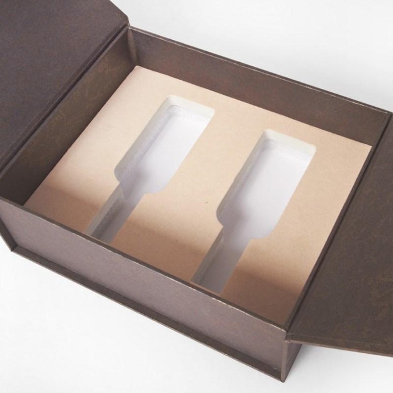 定制个性创意茶叶茶具通用双开精品包装礼盒