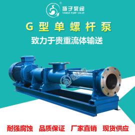G型单螺杆泵 压滤机泵 浓浆泵 污泥泵 高物料泵