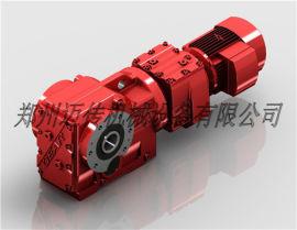 叠螺式污泥浓缩机专用减速机-K系列螺旋锥齿轮减速机