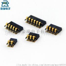 2.0间距塑高1.7mm正压式贴片弹片电池连接器