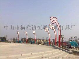 非标订做LED广场景观灯 中国结广场灯
