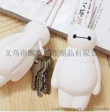 韓國飾品 超能陸戰隊卡通大白公仔鑰匙扣包包掛件