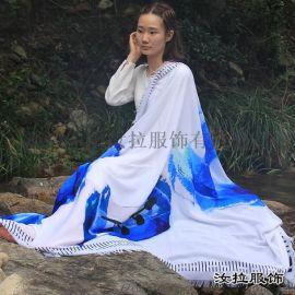 围巾生产商,源头工厂加工定制仿羊绒,真丝围巾