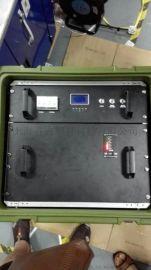 8U减震机架箱服务器移动柜航空箱