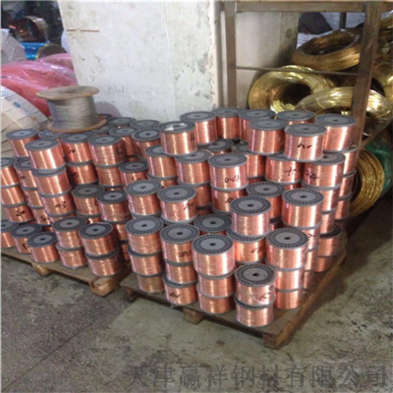 生产加工高质铜线 高质纸包线C1100紫铜丝 定制
