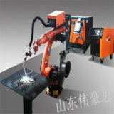 全自动小型六轴焊接机械手 山东氩弧焊焊接机器人
