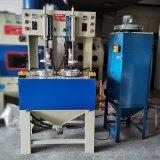 永康喷砂机,铜壶内部打砂处理自动转盘喷砂机
