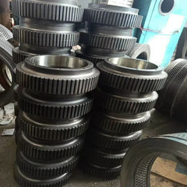90KW老式560颗粒机配件-颗粒机压轮-颗粒机模具厂家