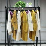 水貂绒高端大衣外套 品牌折扣女装 一手货源
