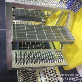 河北镀锌钢格板  河北电厂用镀锌钢格板
